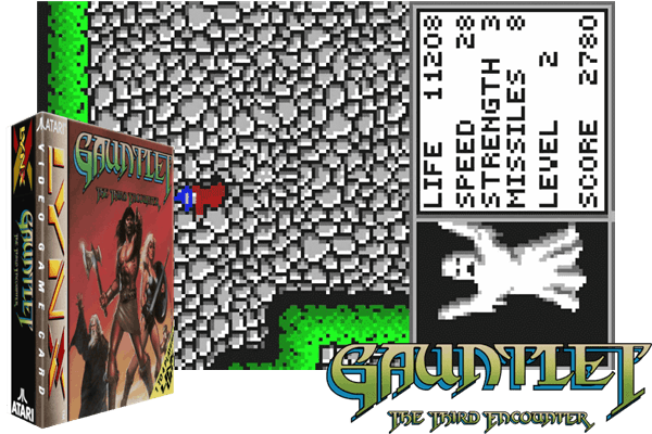 Atari Lynx - Gauntlet - The Third Encounter